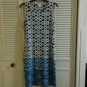 Charter Club Geo Print Dress